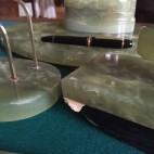 Set scrivania in Alabastro anni 50