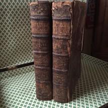 Biblia Sacra 1769 due Tomi
