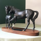 Beswick Horse, Black Beauty & Foal