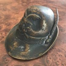 Bronzetto cappello da Alpino