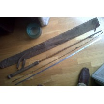 Canna da pesca antica  bamboo