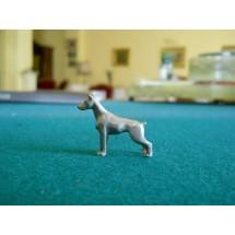 Micro scultura Dobermann