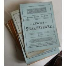Collezione pubblicazione Lewis's Shakespeare