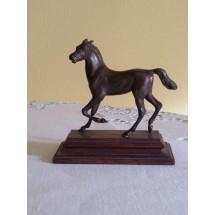 Scultura in bronzo cavallo