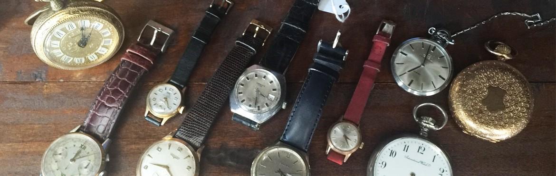 Orologi di tutte le epoche e di tutti i tipi per accontentare tutti i gusti maschili e femminili